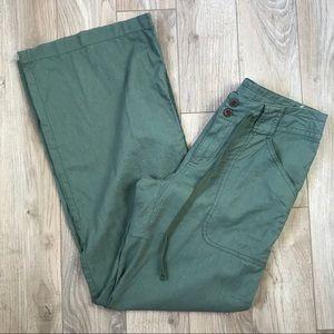 EUC Patagonia Island Hemp Pants Army Green size 2